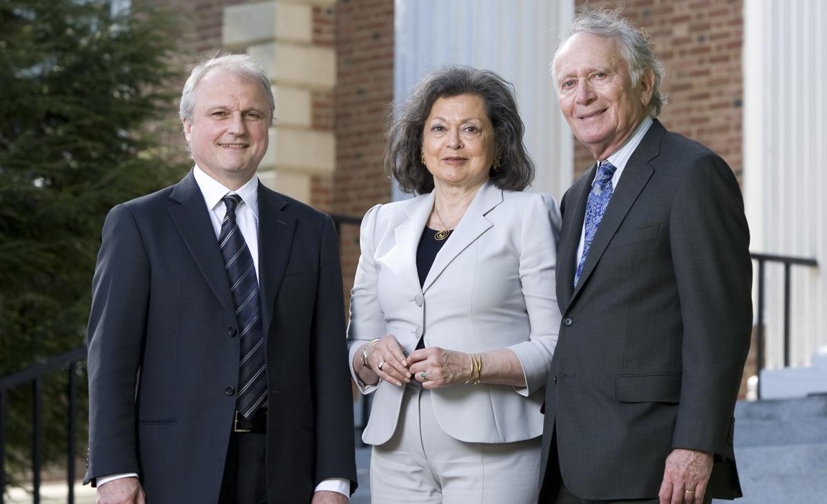 Espen Eckbo, Arthur Lindenauer and Susan Lindenauer.